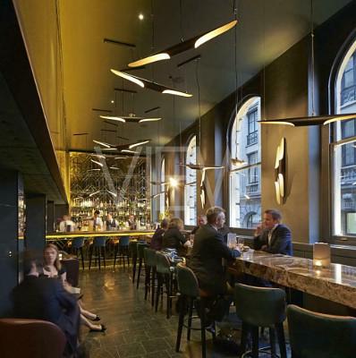 Christopher's, London, United Kingdom. Architect: De Matos Ryan, 2013.