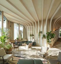 Maggie's Centre in Leeds, Leeds, United Kingdom. Architect: Heatherwick Studio, 2020.