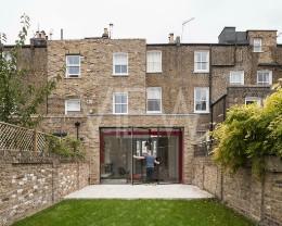 Agnes' House, Brackenbury Gardens, London, United Kingdom. Architect: Tigg Coll Architects, 2015.