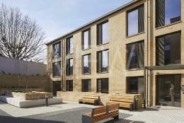 Anglia House, Cambridge, United Kingdom. Architect: O'Connell East Architects, 2019.