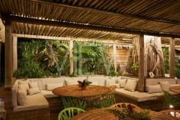 Paradise Beach Nevis, St Thomas' Parish, Saint Kitts and Nevis. Architect: Naomi Cleaver, 2019.