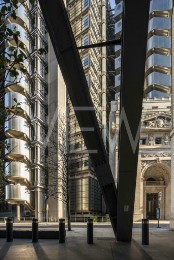 Lloyd's Building, London, United Kingdom. Architect: Rogers Stirk Harbour + Partners, 1986.