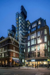 Lloyd's Register of Shipping, London, United Kingdom. Architect: Rogers Stirk Harbour + Partners, 2000.