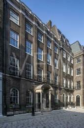 City of London lockdown 2020 - Frederick's Place, London, United Kingdom. Architect: Robert & James Adam, 1778.