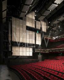 Sadler's Wells Theatre Auditorium, London, United Kingdom. Architect: RHWL Architects , 1998.