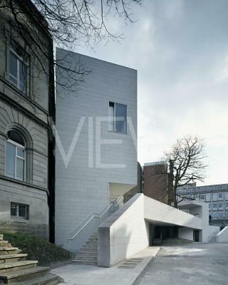 Parson's Building Extension, Dublin, Ireland. Architect: Grafton Architects, 2005.