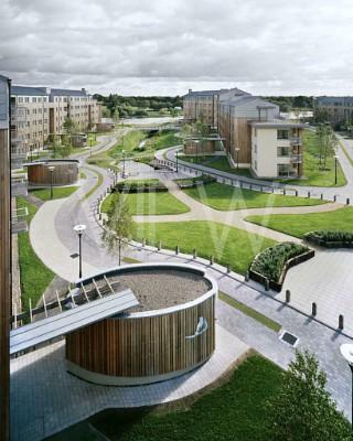 Thomond Student Village, Limerick, Ireland. Architect: Murray O'Laoire Architects, 2004.
