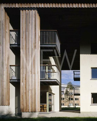 Thomond Student Village, Limerick, Ireland. Architect: Murray O'Laoire Architects, 2004.